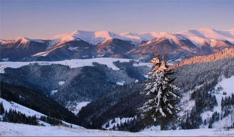 Завтра Карпати вкриються 10-сантиметровим шаром снігу
