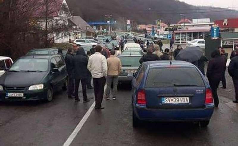 Євробляхери блокують пункти пропуску