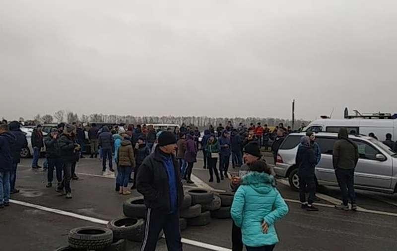 Прикордонники перейшли на посилений режим роботи через протести євробляхарів