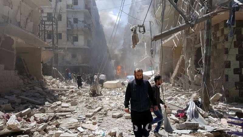 Бойовики обстріляли Алеппо снарядами з хлором: опубліковано фото та відео
