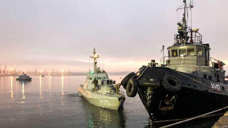 УМінТОТ заявили, що не знають, чи дадуть захопленим українським морякам статус політв'язнів