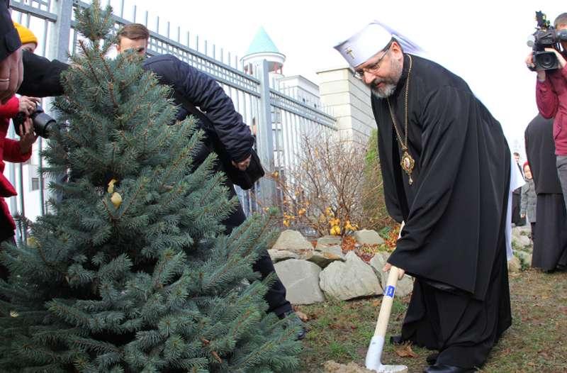 Глава УГКЦ закликав вірних відмовитися від живих ялинок на Новий рік та Різдво