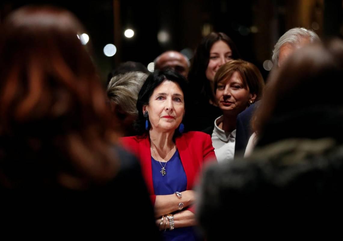 Новообрана президентка Грузії відмовилася співпрацювати з Росією