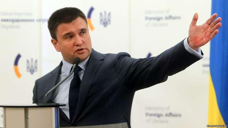 Клімкін:Росія досі офіційно не повідомила Україну про місцеперебування полонених моряків
