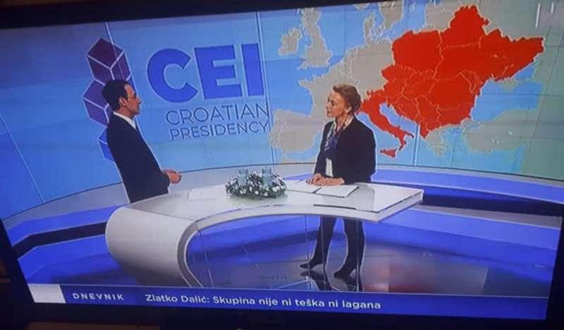 Карта України без Криму: хорватський телеканал вибачився за демонстрацію некоректної мапи