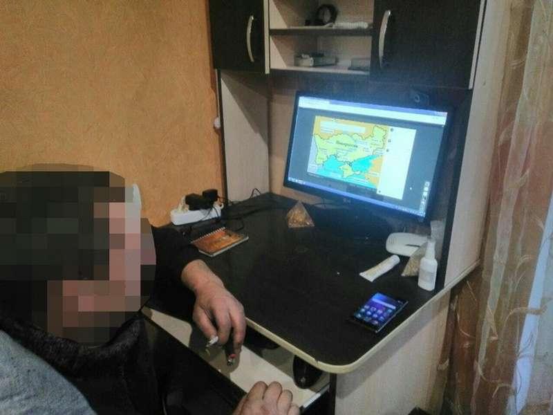 СБУ затримала провокатора, який поширював фейки про воєнний стан