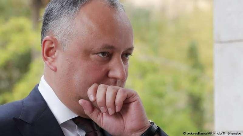 Президента Молдови відсторонили від посади.Вп'яте цього року