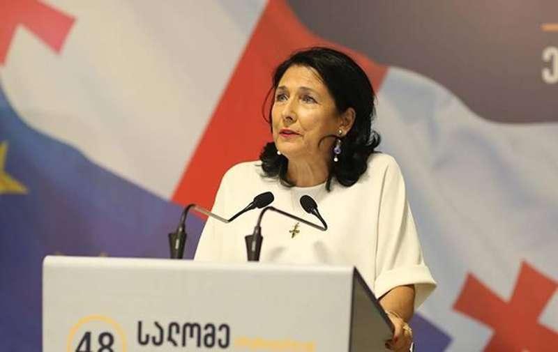 Зурабішвілі офіційно вступила на посаду президента Грузії