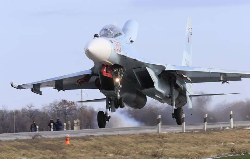 В анексованому Криму з'являться нові російські винищувачі