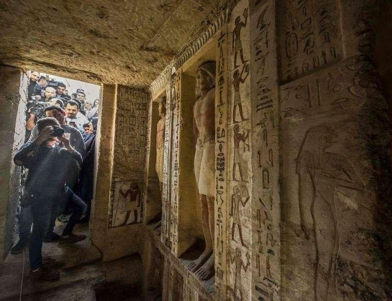 В Єгипті виявили неторкану гробницю жерця