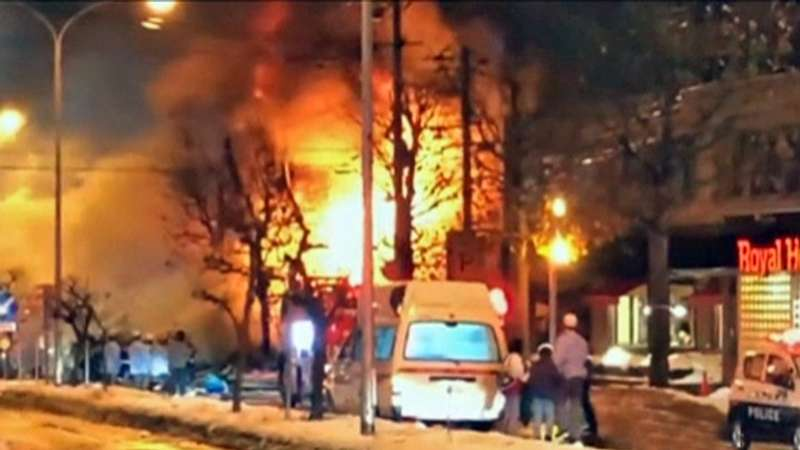 У Японії вибухнув ресторан: понад 40 постраждалих (відео)