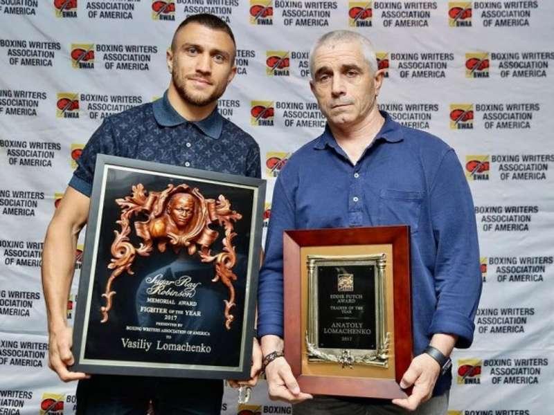 Батька Ломаченка назвали найкращим боксерським тренером у світі