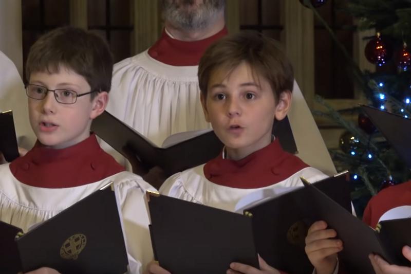 У Віндзорському замку заспівали Щедрик (відео)