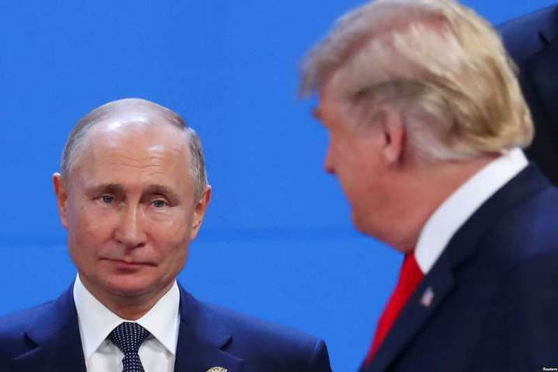 Путін вирішив першим привітати Трампа з Новим роком