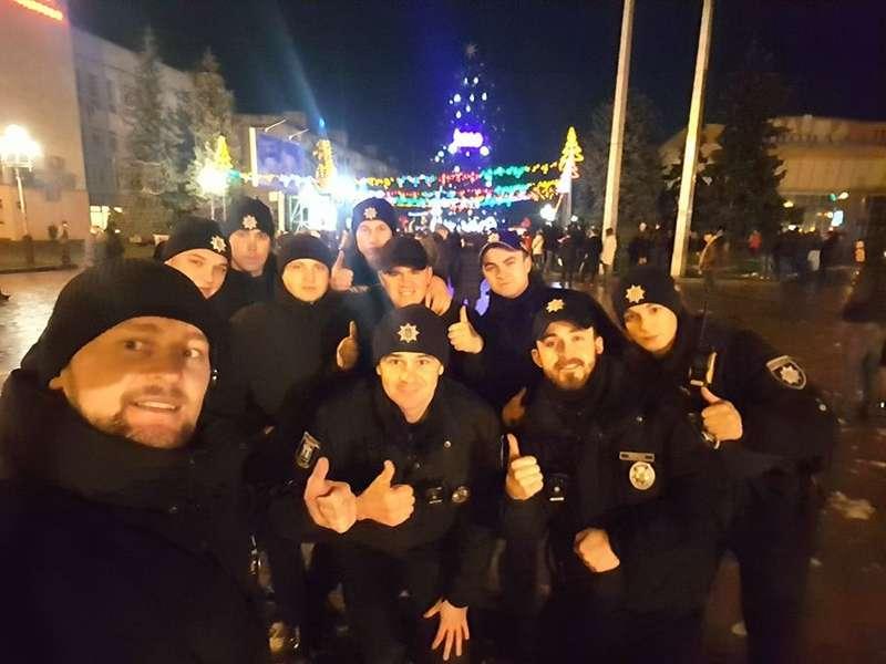 Патрульна поліція розповіла про порушення громадського порядку в новорічну ніч