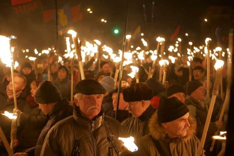 У столиці пройшов традиційний марш націоналістів до Дня народження Бандери