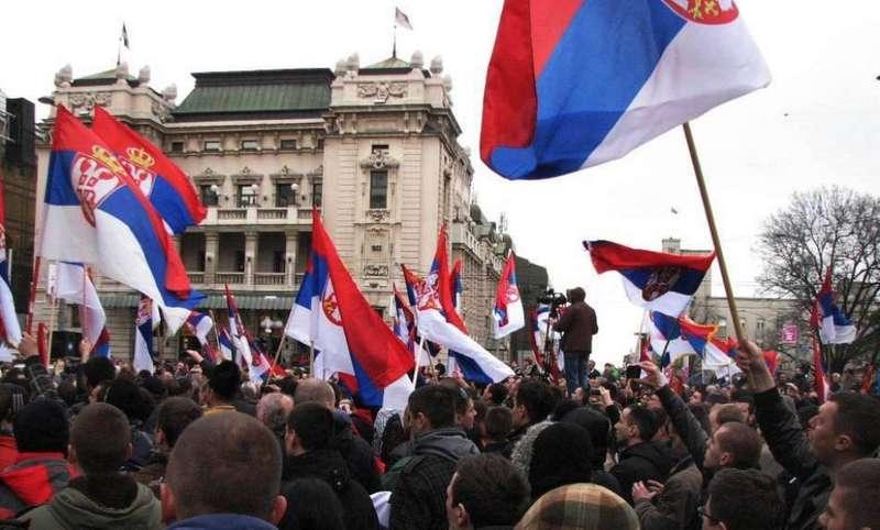 Антиурядові протести у Сербії тривають уже п'ятий тиждень