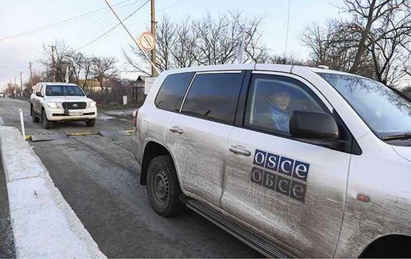 На окупованому Донбасі бойовики заблокували роботу патрулів ОБСЄ