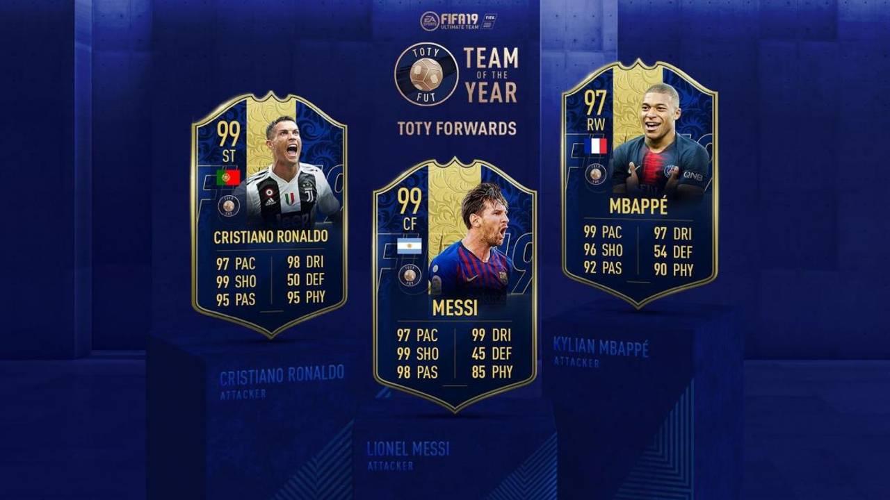 FIFA 19 створила футбольну збірну року: несподіванки складу