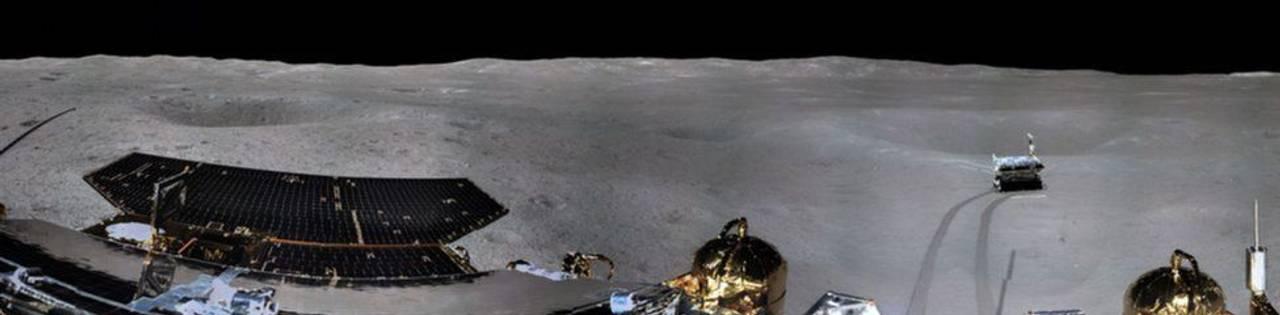 З'явилося перше панорамне фото зворотньої сторони Місяця