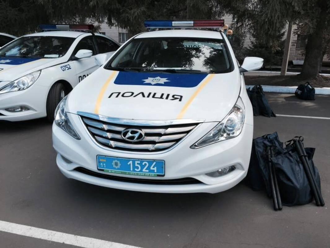 У Києві затримали громадян, які заблокували роботу одного з поліцейських підрозділів