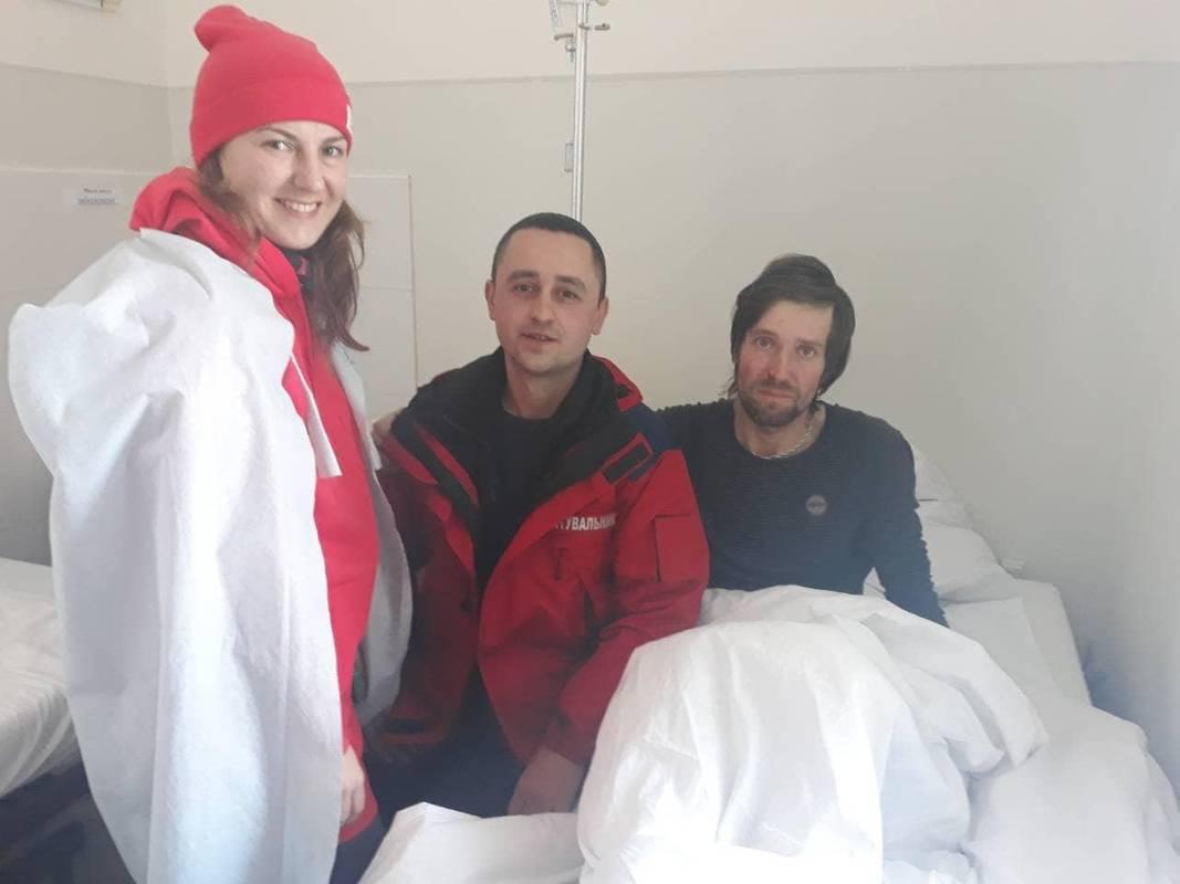 Турист, якого знайшли у Карпатах, розповів, заради чого обов'язково повернеться в гори
