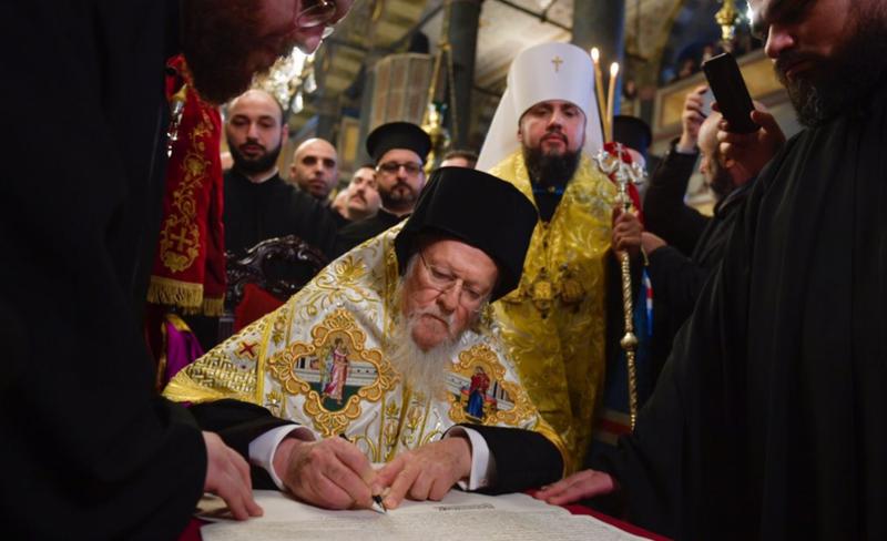 Екзарх Константинополя прогнозує, що Православна церква України може стати патріархатом