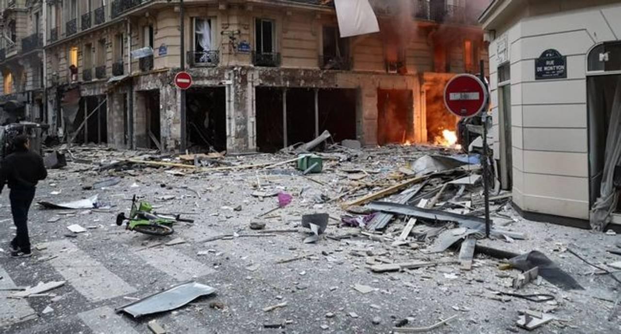 Від вибуху в центрі Парижа постраждало 20 людей