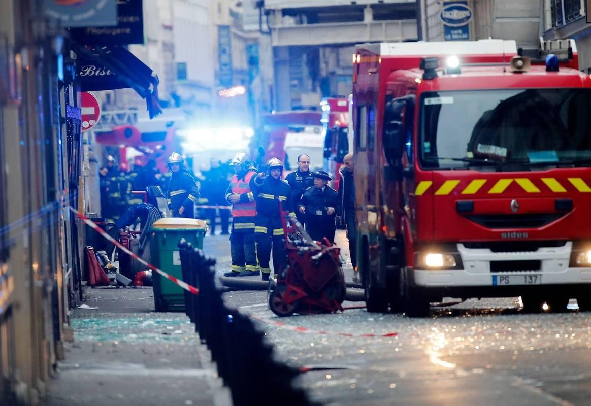 Зросла кількість загиблих унаслідок вибуху пекарні в Парижі