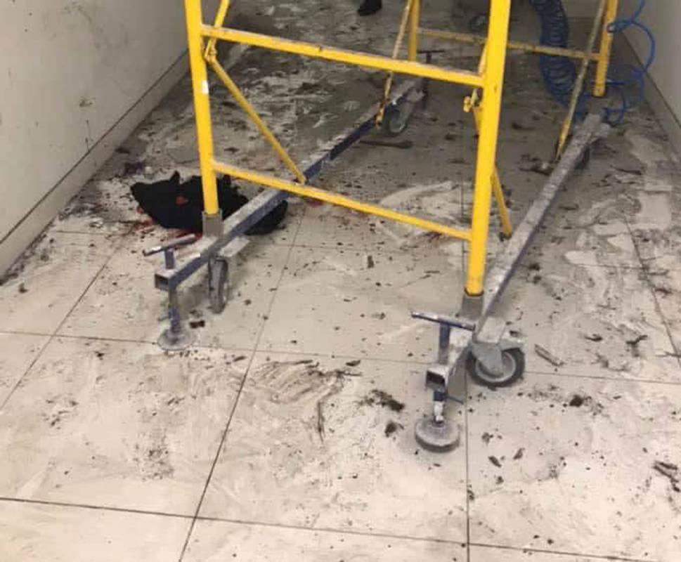 Під час ремонту торгового центру у Києві пролунав вибух