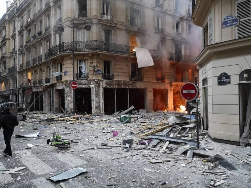 Від вибуху у Парижі постраждав українець, - ЗМІ