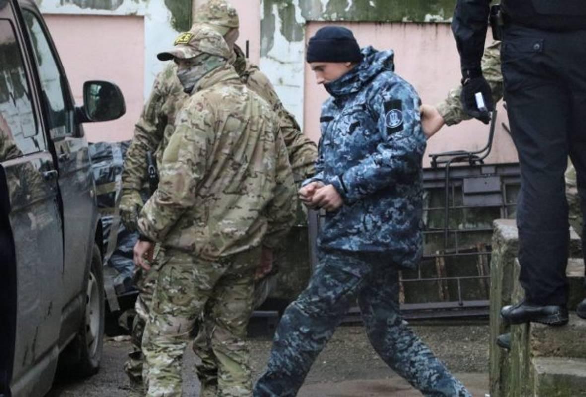 У Росії розповіли про стан поранених українських моряків