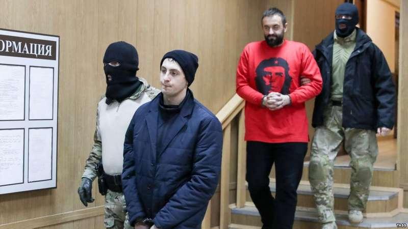 Московський суд продовжив арешт 12 українським морякам