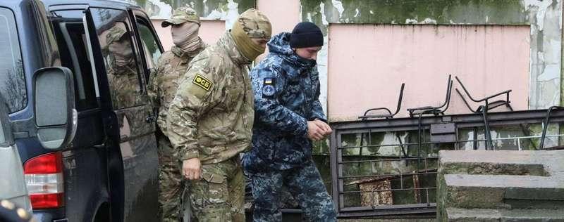 Українські моряки відмовилися свідчити у російському суді