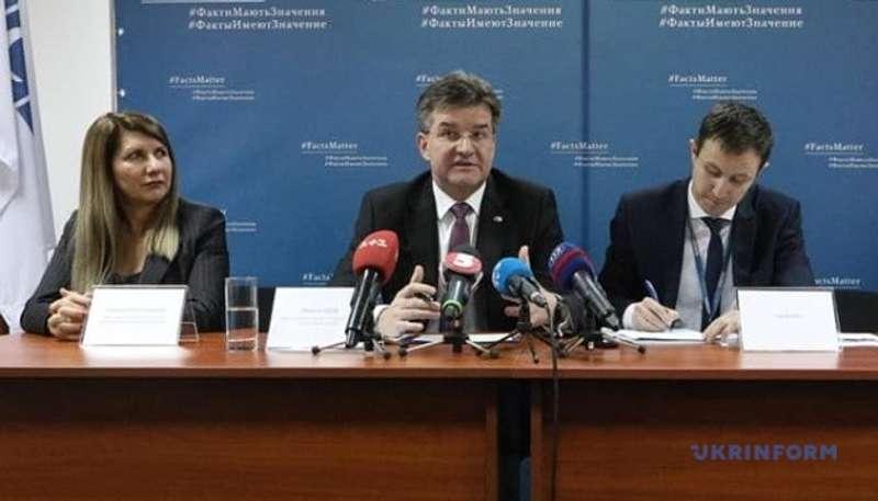 Голова ОБСЄ назвав Україну одним з найбільших пріоритетів