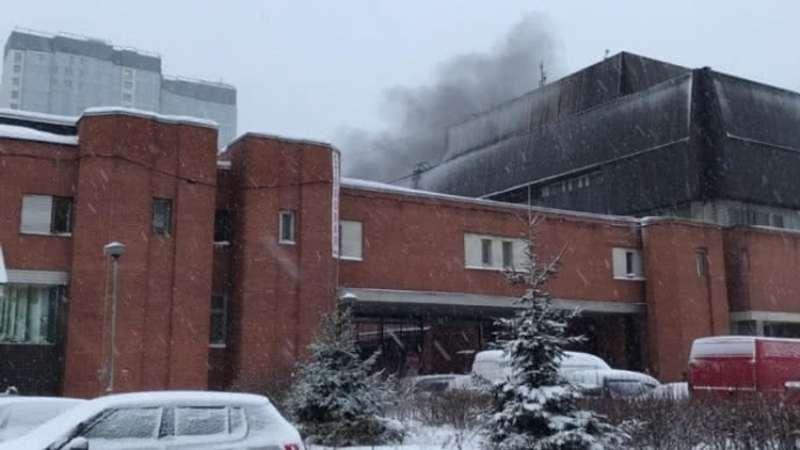 Під час пожежі в типографії у Петербурзі загинули люди