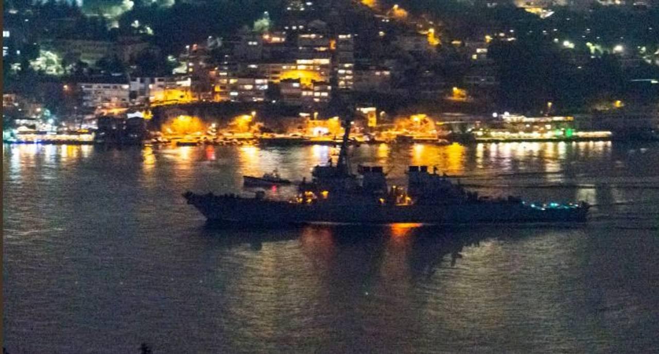 У Чорне море увійшов американський есмінець