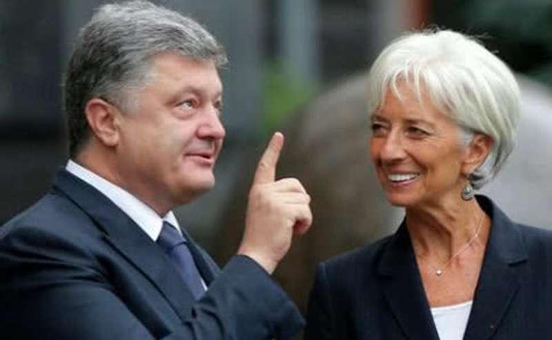 Порошенко завтра хвалитиметься голові МВФ зростанням українського ВВП