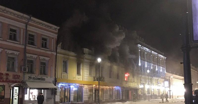 У Києві на Подолі згорів ресторан
