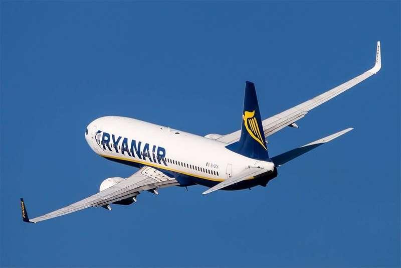 Ryanair запускає чотири нові рейси з України до Німеччини