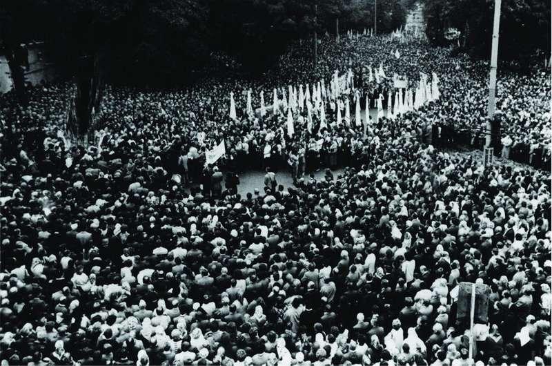 Багатотисячний похід греко-католиків з вимогою легалізації УГКЦ (1989 р.)