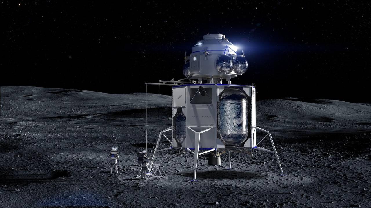 Blue Moon зможе доставити на Місяць астронавтів та повернути їх на Зе