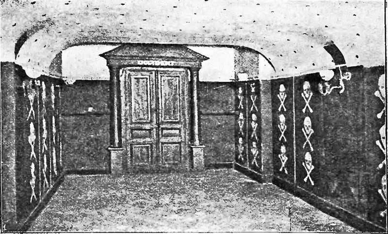 Інтер'єр ложі Етьєна Доле в Орлеані.