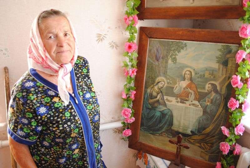 Марія Легуцька береже ікону, яку її мама врятувала від комуністів.