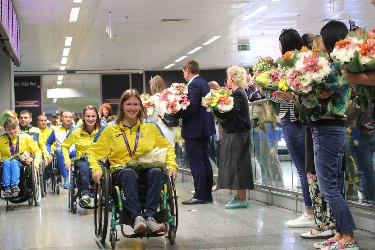 Фото зі сторінки National Sports Committee for the Disabled of Ukraine, Paralympic Committee у faceb