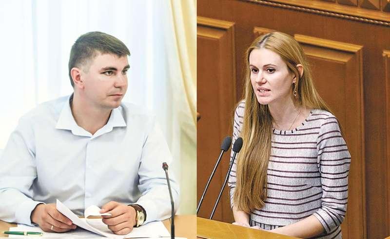 Антон Поляков та Анна Скороход