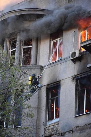 Фото ДСНС в Одеській області