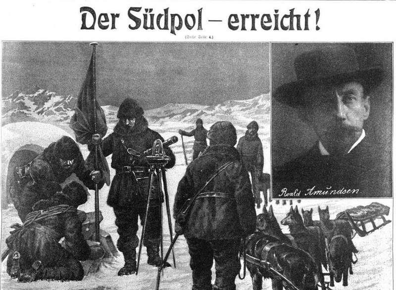Відкриття Південного полюса Руалем Амундсеном