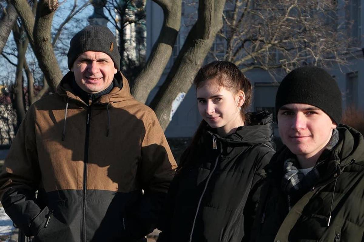 Фото зі сторінки О. Сенцова у Facebook