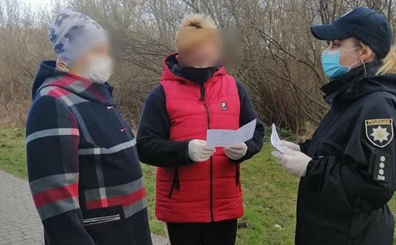 Фото зі сторінки Патрульної поліції Львівської області у Facebook